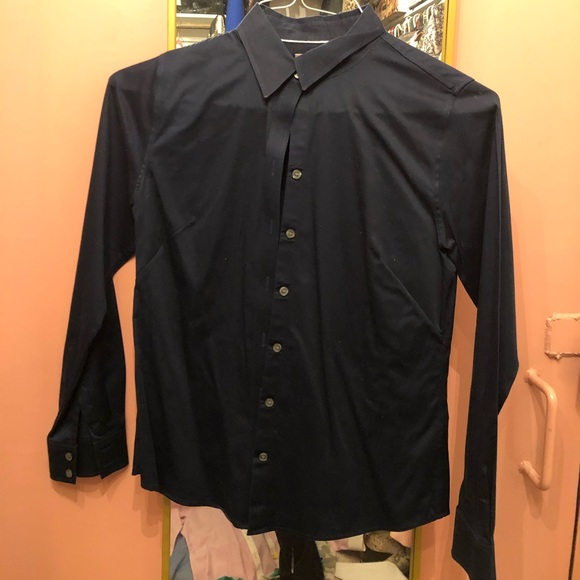 Brooks Brothers Tops - Navy Brooks Brothers button down